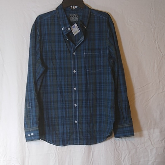 Straight Faded Other - 3/$15 SALE Long Sleeve Button Down Casual Shirt